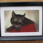 A6 portret pastel